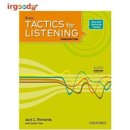 تصویر  کتاب Tactics For Listening - Basic